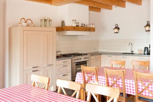 Hotelrooms keuken